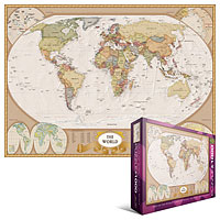 Map of the World 1000 piece puzzle