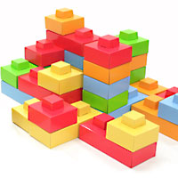 Dado Cardboard Bricks