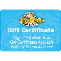 Fat Brain Toys Digital Gift Certificate