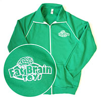 Fat Brain Toys American Apparel Track Jacket