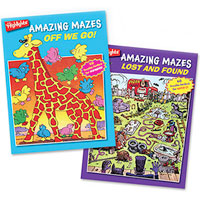 Highlights Amazing Mazes - 2 Book Set