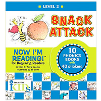 Now I'm Reading - Snack Attack