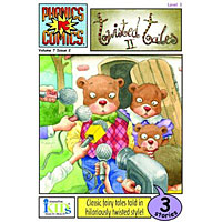 Phonics Comics - Twisted Tales II