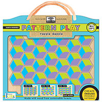 Green Start Pattern Play Wooden Puzzle - Razzle Dazzle