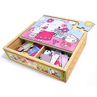 Green Start Jigsaw Puzzle Box Set - Cuties