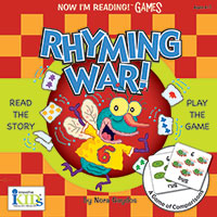 Now I'm Reading! Game & Book - Rhyming War!