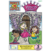 Phonics Comics - Princess School