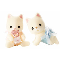 Calico Critters - Silk Cat Twins