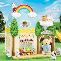 Calico Critters - Rainbow Nursery