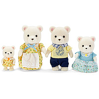 Calico Critters Polar Bear Family