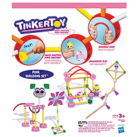 Tinkertoy Pink Building Set