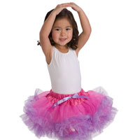 Tutu - Fuchsia & Light Purple