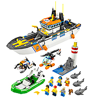 LEGO City Coast Guard - Coast Guard Patrol
