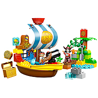 LEGO DUPLO Jake - Jake's Pirate Ship Bucky
