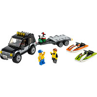 LEGO City Great Vehicles - SUV with Watercraft