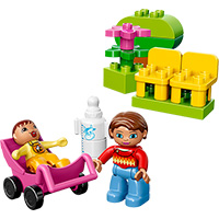LEGO DUPLO Town Mom and Baby