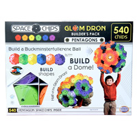 Space Chips Glom Dron Builders Pack - 540 pc