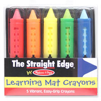 Write On - Wipe Off Multi-Colored Crayons