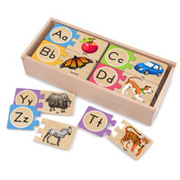 Alphabet Wooden Puzzle Cards