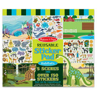Habitats Reusable Sticker Book