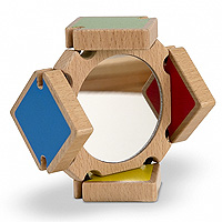 Color-Flap Mirror