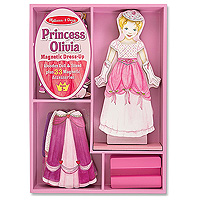 Princess Olivia Magnetic Dress Up