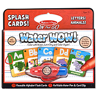 On the Go Water Wow! Splash Cards Alphabet