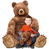 Brown Bear and Cub - Large Plush