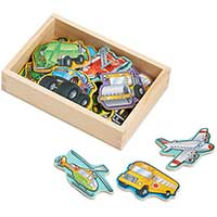 Wooden Vehicle Magnets