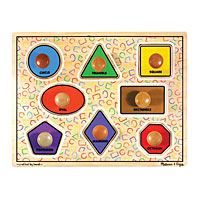 Geometric Shapes Jumbo Knob