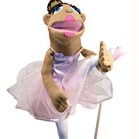 Ballerina Puppet - Full Body