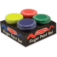 Finger Paint Set - 4 colors