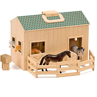 Fold & Go Mini Stable