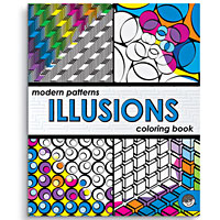 Illusions Coloring Book