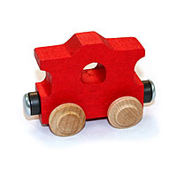 NameTrain Red Caboose