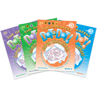 Super Challenge Dot-to-Dot Books