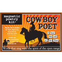 Cowboy Poet Poetry Kit