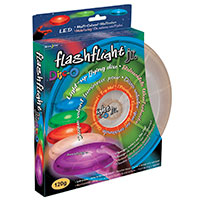 FlashFlight Jr. LED Light-Up Flying Disc