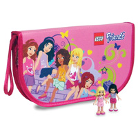 LEGO Friends ZipBin Heartlake Wristlet