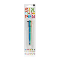 Six Color Ink Pen