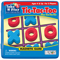 Magnetic Travel Tic-Tac-Toe