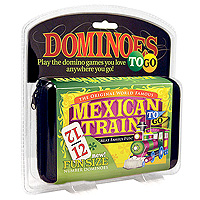 Mexican Train to Go Domino Game
