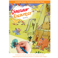 Scribble Down Dinosaur Encounter