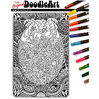 The Original DoodleArt Jungle