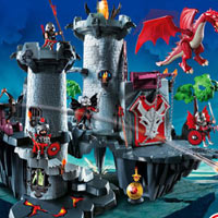 Playmobil Dragon's Land - Great Dragon Castle