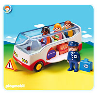 Playmobil 1,2,3 Airport Shuttle Bus