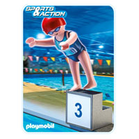 Playmobil Collect & Play Sport - Swimmer