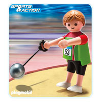 Playmobil Collect & Play Sport - Hammer Thrower