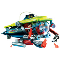 Playmobil Vacation Deep Sea Submarine with Underwater Motor