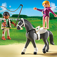 Playmobil Pony Ranch - Equestrian Vaulting